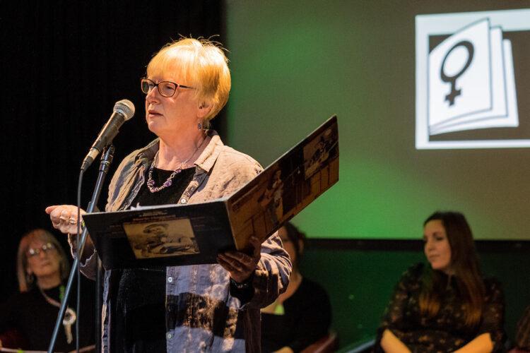 Women of Words - Julie Corbett. Photo by Jerome Whittingham.