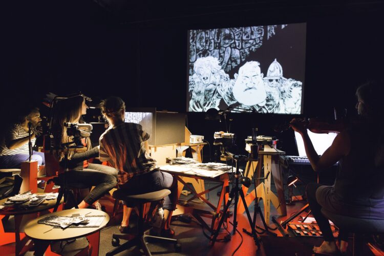 Paper Cinema's Macbeth - Photo by James Allan